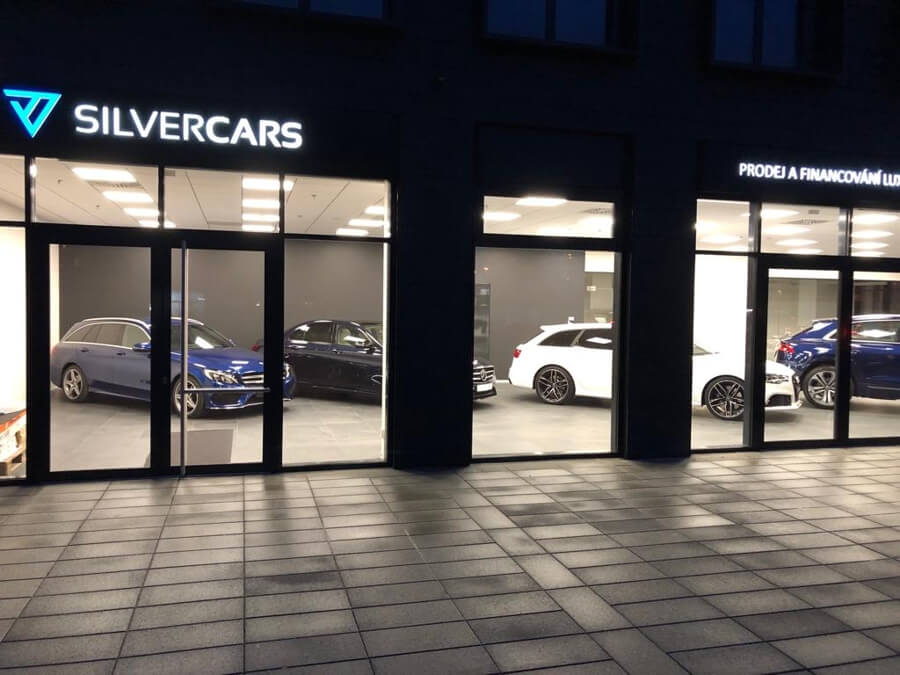 Silvercars showroom Rustonka