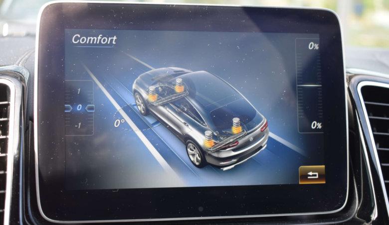 Mercedes Benz GLE Coupé 350d AMG/SoftClose/ACS+podvozek-AIRMATIC/360Kamery/Tažné zařízení/AMG R22