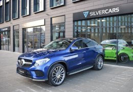 Mercedes-Benz GLE 350d 4Matic AMG coupe blue