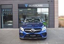 Mercedes-Benz GLE 350d 4Matic AMG coupe blue-001