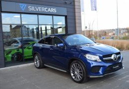 Mercedes-Benz GLE 350d 4Matic AMG coupe blue-002