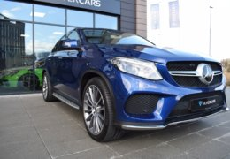 Mercedes-Benz GLE 350d 4Matic AMG coupe blue-003