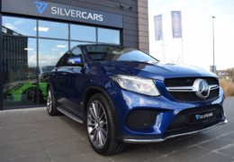 Mercedes-Benz GLE 350d 4Matic AMG coupe blue-004