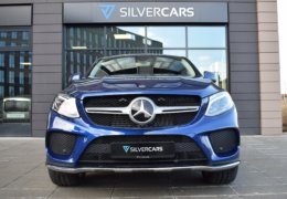 Mercedes-Benz GLE 350d 4Matic AMG coupe blue-005