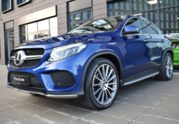 Mercedes-Benz GLE 350d 4Matic AMG coupe blue-006