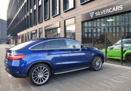 Mercedes-Benz GLE 350d 4Matic AMG coupe blue-010