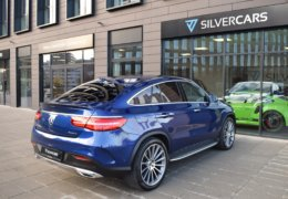Mercedes-Benz GLE 350d 4Matic AMG coupe blue-011