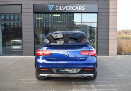 Mercedes-Benz GLE 350d 4Matic AMG coupe blue-012