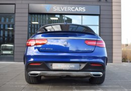 Mercedes-Benz GLE 350d 4Matic AMG coupe blue-015
