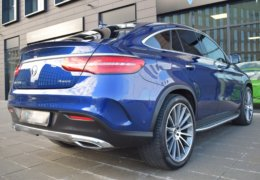 Mercedes-Benz GLE 350d 4Matic AMG coupe blue-016