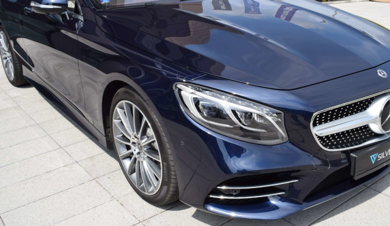 Mercedes-Benz Třídy S 560 coupe 4Matic/ AMG/ Designo