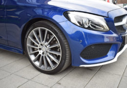 Mercedes-Benz C300 cabrio modrá-004