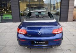 Mercedes-Benz C300 cabrio modrá-011