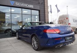 Mercedes-Benz C300 cabrio modrá-012