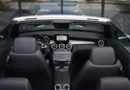 Mercedes-Benz C300 cabrio modrá-014