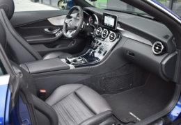 Mercedes-Benz C300 cabrio modrá-015