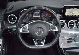 Mercedes-Benz C300 cabrio modrá-018