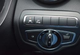 Mercedes-Benz C300 cabrio modrá-024