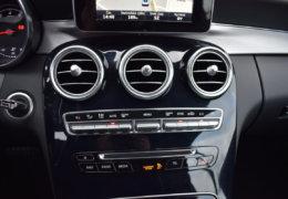 Mercedes-Benz C300 cabrio modrá-030