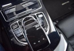 Mercedes-Benz C300 cabrio modrá-031