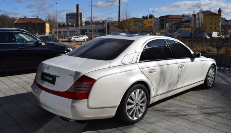 Maybach 57S TOP stav/ 36000km/ Max výbava