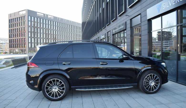 Mercedes-Benz GLE 400d/AMG/ Max vybava/ 360/ Keyles/ Soft close/ Head UP/ Hnědá kůže