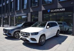 Mercedes-Benz GLS400d white