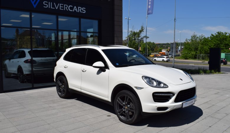Porsche Cayenne 3,0d V6 Turbo Optik, Vzduch