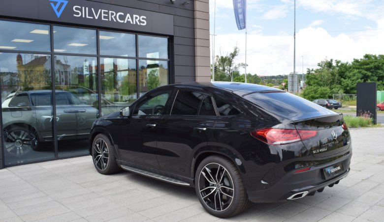 Mercedes-Benz GLE 400d COUPE/ AMG/ Sada premium PLUS/ 360/ Keyles/ Head UP/ černá kůže