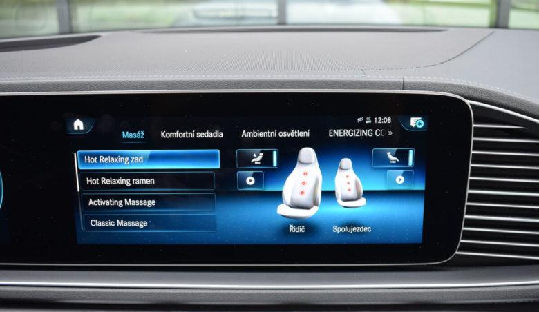 Mercedes-Benz GLE 400d 4Matic /AMG /360 /Distronic /Soft close /Masážní sedačky přední vč. ventilace
