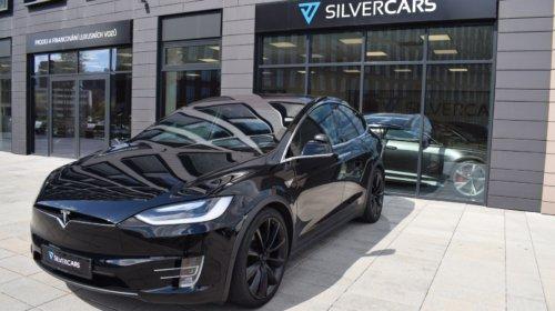 Tesla X P75d/ 6míst/ Supercharge zdarma