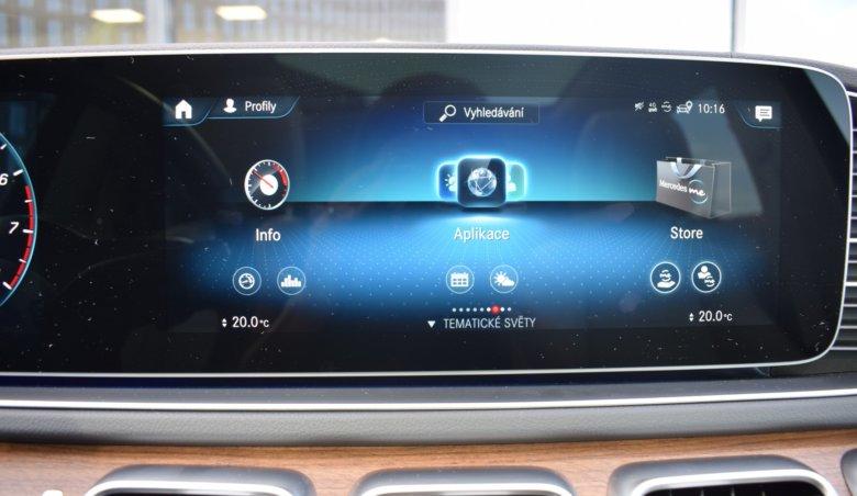 Mercedes-Benz GLS 580 AMG/tažné/panorama/Head-Up/Burmester
