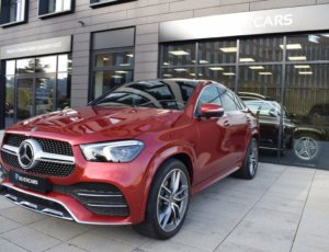 Mercedes-Benz GLE 400d coupe/panorama/keyless/4M