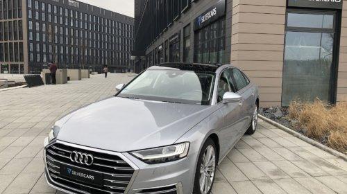 Audi A8 50 TDi/KeyLess/SoftClose/3xTV/Masáže