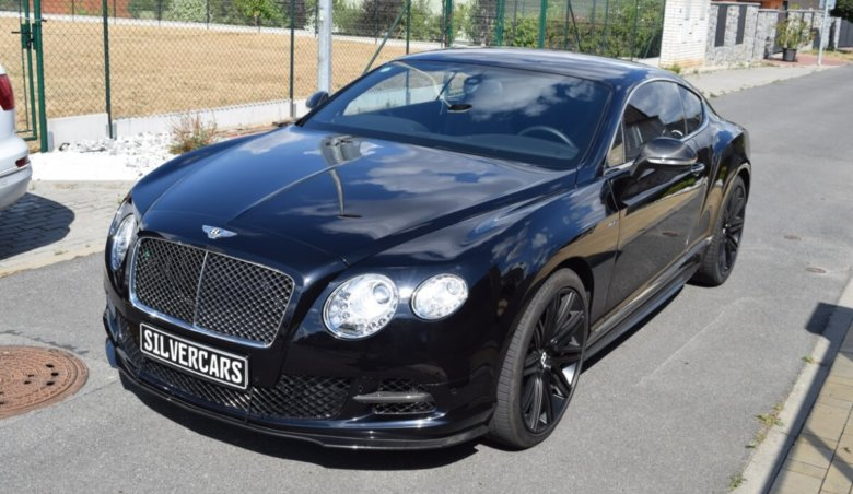 BENTLEY CONTINENTAL GT W12 SPEED / MASSAGE / KARBON