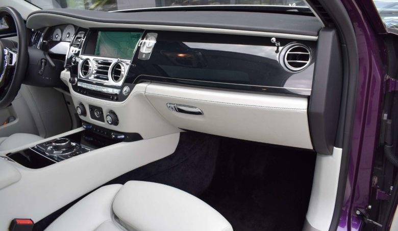 Rolls Royce Ghost Rear Entertaiment
