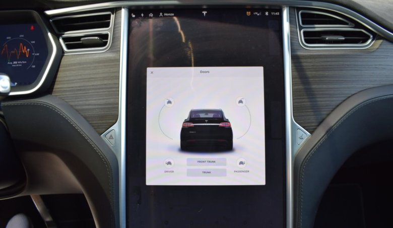 Tesla X P90D 7míst/ Performance/Tažné/771 PS